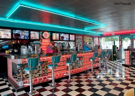 Retro Diner Le bienvenue au bar retro du s diner lyon picture of