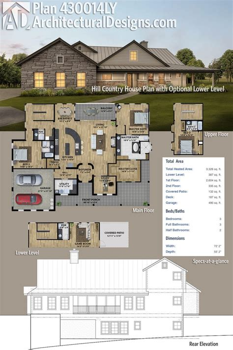 country house floor plans 45 best hill country house plans images on country home plans country homes and
