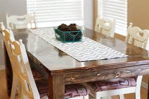 Dining Room Table Runners by Easy Diy Table Runner Tutorial Sew Much Ado