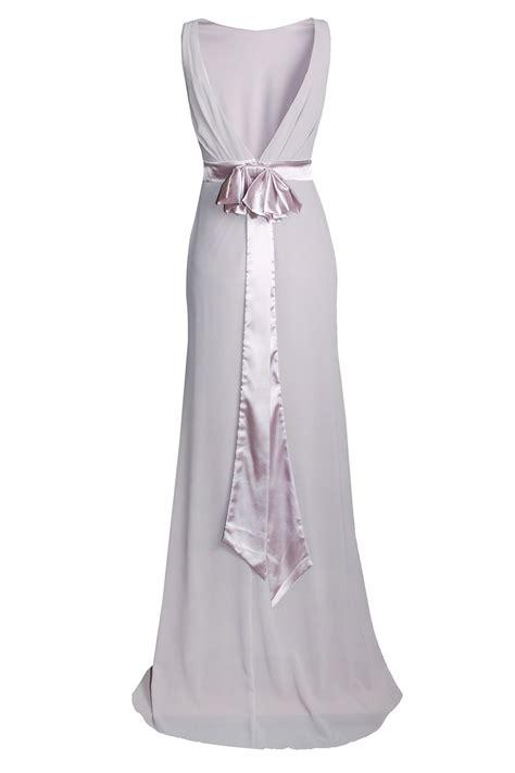 Dress Maxy Grey tfnc halannah grey maxi dress tfnc dresses