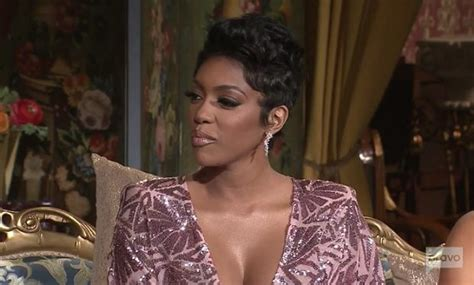 porcha atlanta house wife hair line porsha williams rocks short hair on reunion plugs new wig