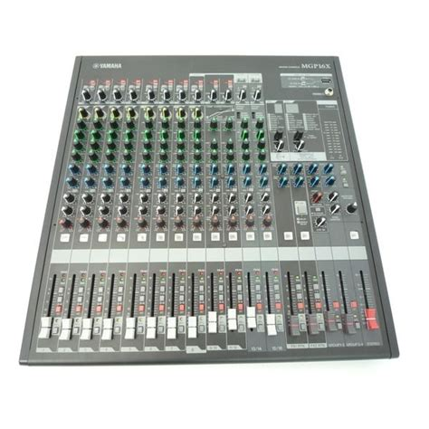 Mixer Yamaha Mgp 16 Channel yamaha mgp16x 16 channel mixing console analogue mixer desk mgp 16x ebay