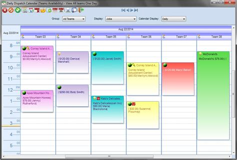 dispatch schedule template scheduling and estimating software for janitorial