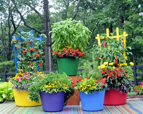 Colorful Planters by Colorful Plastic Trug Tub With Wood Trellis Planter Ebay
