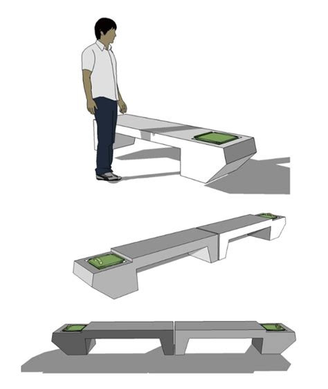 knock down shooting bench plans pdf concrete bench design plans free