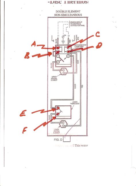 wiring diagram electric water heater elements get free
