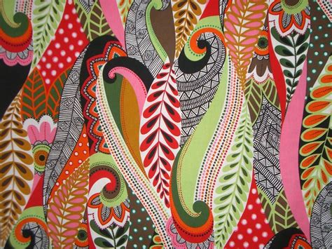 print fabric remnantbright paisley cotton print fabric from