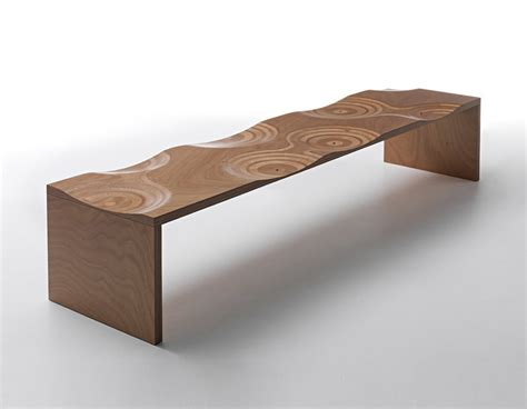 ripple bench ripples bench by toyo ito horm wood furniture biz