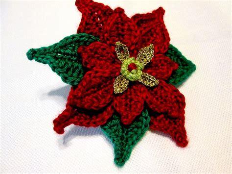 pattern crochet poinsettia poinsettia applique crochet pattern by marilyn smith