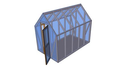 Wood Shed Design Plans Wood Playhouse Plans Diy Pdf Plans Mini Greenhouse Plans Free