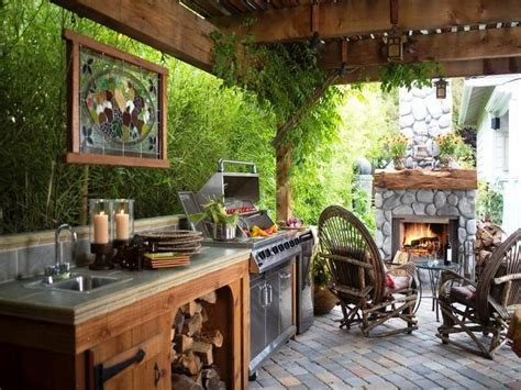 backyard kitchen ideas small outdoor kitchen ideas creating outdoor kitchen is