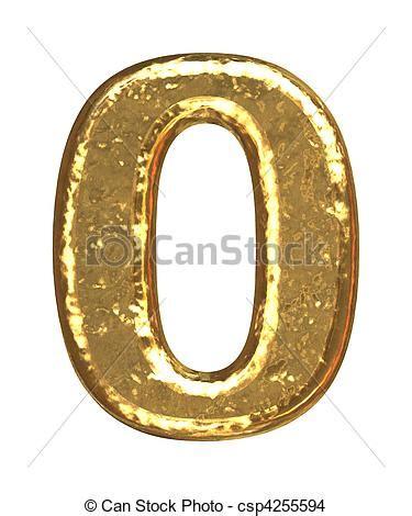 nmero cero number 8426402046 dibujos de dorado cero n 250 mero fuente oro n 250 mero como barras csp4255594 buscar
