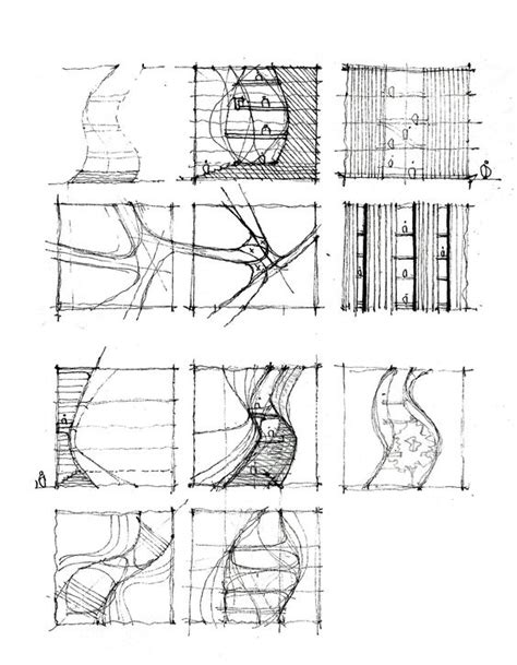 Processing 3 Sketches by Sketches Architecture Sketches And Planning On