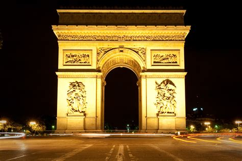 Arch L A B by File Arc De Triomphe At Night Paris Fr Jpg