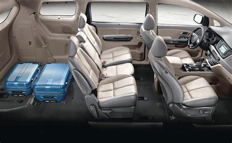How Many Per Gallon Does A Kia Sedona Get 2016 Kia Sedona Lounge Seating And Slide N Stow Seats