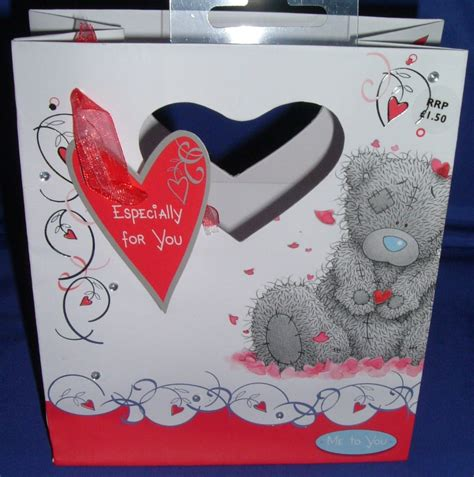 valentines gift bags me to you gift bag small