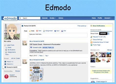 edmodo student tutorial video utilizing edmodo in the classroom breathing life into