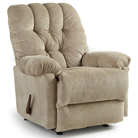 Best Home Furnishings Recliners Medium Raider Swivel Rocker Swivel Recliner Chair