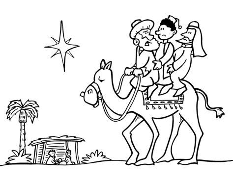 imagenes de navidad para colorear reyes magos dibujo de los tres reyes magos para colorear dibujos net