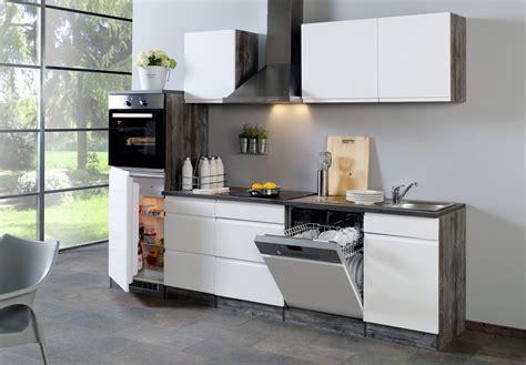 küchenzeile l form mit geräten landhausstil wohnzimmer rosa