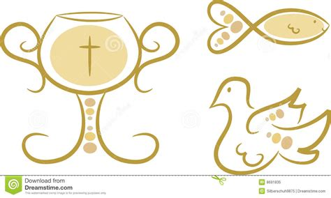imágenes símbolos religiosos s 237 mbolos religiosos conjunto i ilustraci 243 n del vector