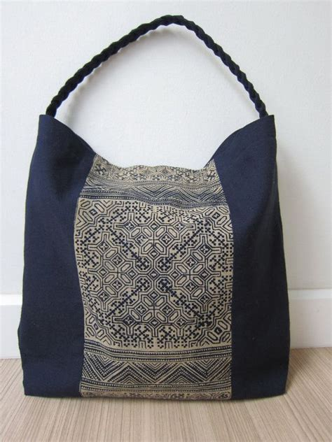 Handcrafted Handbags - 547 best images about sashiko stitching on