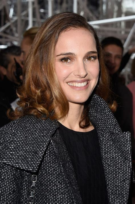 Natalie Portman Is Fashionable by Natalie Portman At Christian Fashion Show Celebzz