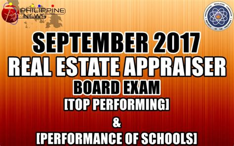Real Estate Records Top Performing Performance Of Schools September 2017