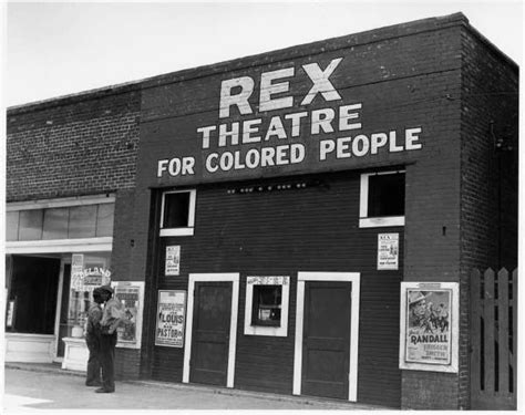 coloreds only rex theatre for colored leland mississippi delta