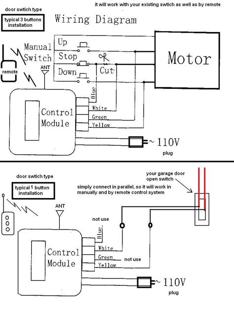 lift master garage door opener wiring diagram lift master