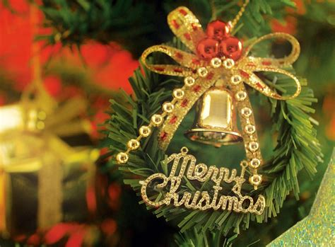 decorated christmas jingle bells  christmas  messages
