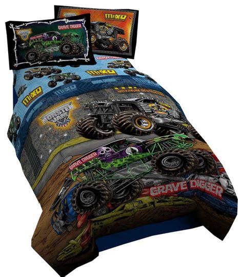 monster jam bedding set monster jam twin bedding set grave digger comforter sheets