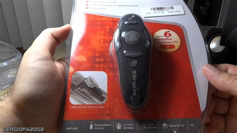 Wireless Mouse Presenter With Laser Pointer 3 In 1 Function review of the targus wireless presenter with laser pointer found on ebay for just 15