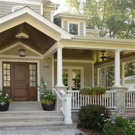 front porch ideas front porch ideas i love the neutral colors the wrap