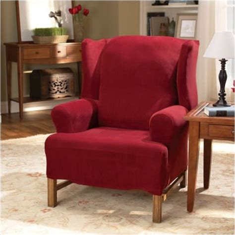 wing chair slipcovers september   finding   cheap wing chair slipcovers white