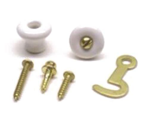 porcelain knob and hook