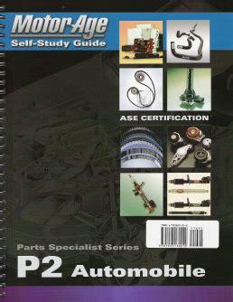 Ase P2 Parts Specialist Automobile Parts Specialist