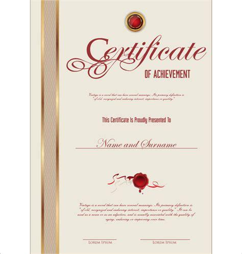 graphic design certificate las vegas vector template certificates design graphics free vector