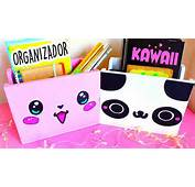 DIY Organizador Kawaii De CARTON  Mery YouTube