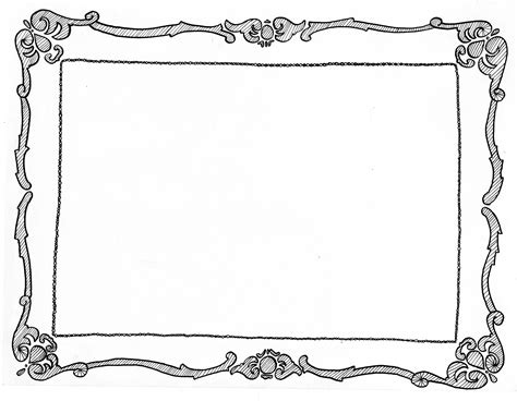 how to draw doodle frames picture frame drawing webwoud