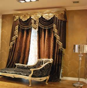 Gold Living Room Curtains Decorating Luxurious Decoration In Living Room With Brown Gold Curtains With Valance Abpho