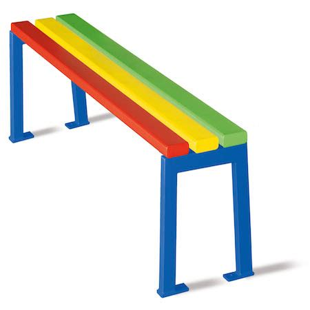 primary school benches exe primary school bench 1500mm length white hill direct