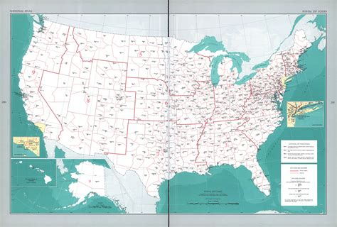 us zip code map maps of united states postal zip codes map mapa owje