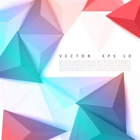 imagenes vectores de triangulos vector de fondo tri 225 ngulo de pol 237 gono abstracto
