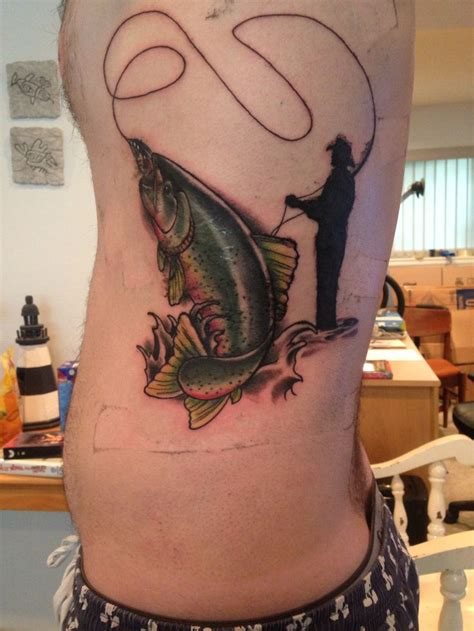 fly fishing tattoos 25 best ideas about trout on fly