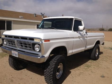 1977 ford f250 parts 1977 ford f 250 ford trucks for sale trucks