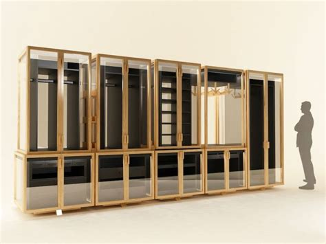 clothes storage modular transparent clothing storage system digsdigs