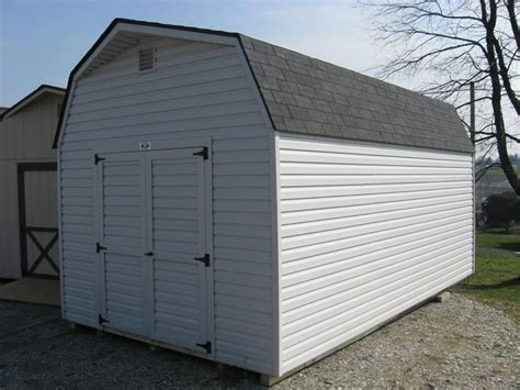 10x18 Shed by 10x18 Vinyl Storage Shed Big Barn