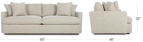 sofa lengths sofa lengths hereo sofa