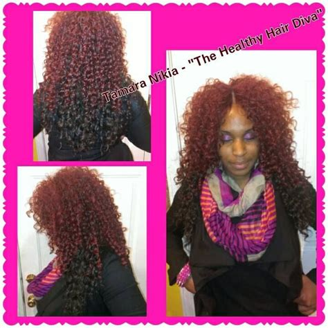 picturez of wavy hair with invisible part quick weave curly hair invisible part hair weave